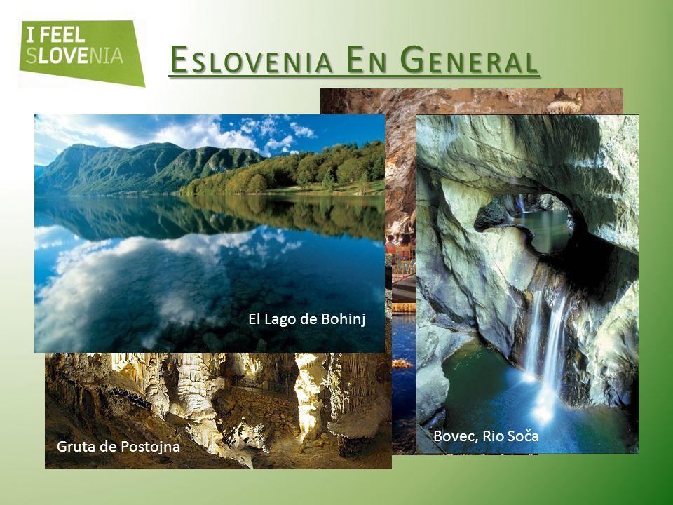ESLOVENIA EN GENERAL Clima: alpino, continental, mediterráneo.