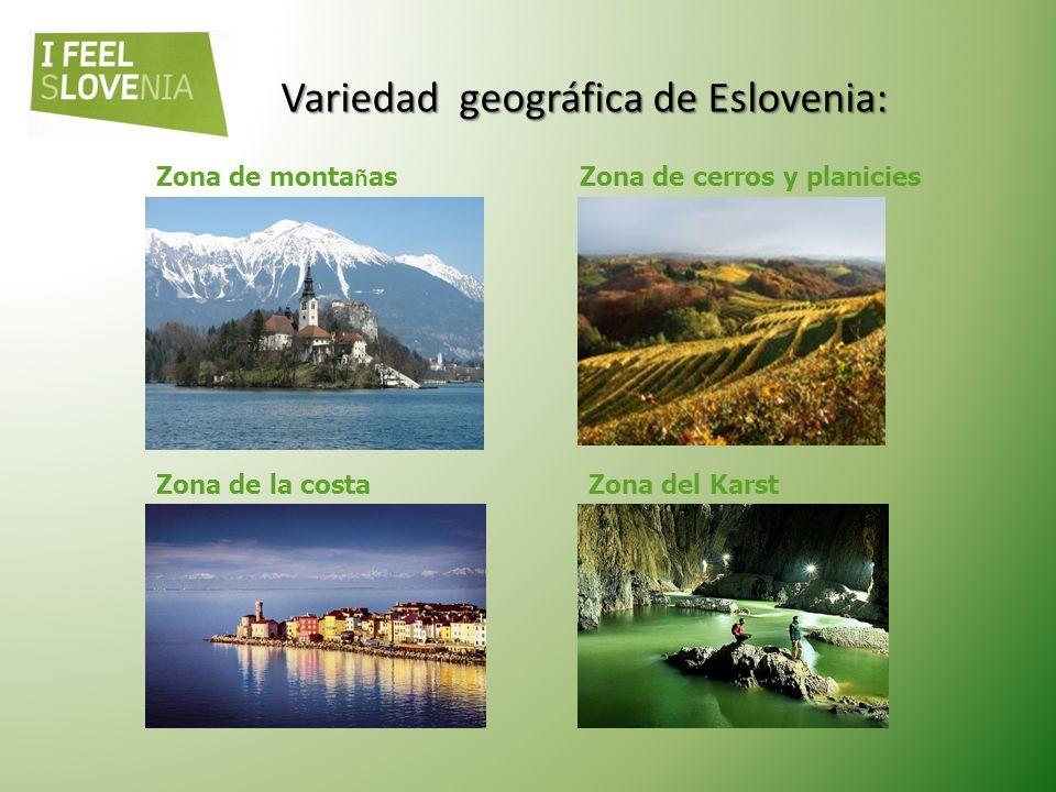 Variedad geográfica de Eslovenia: