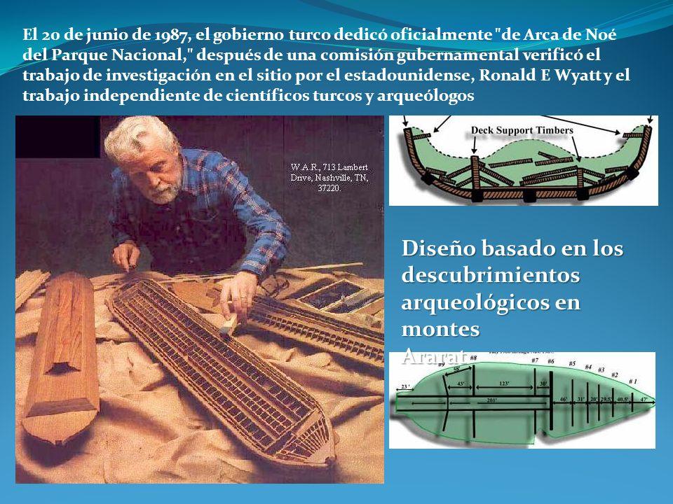 Diseño basado en los descubrimientos arqueológicos en montes Ararat