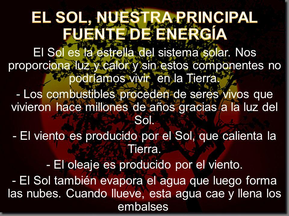 EL SOL, NUESTRA PRINCIPAL FUENTE DE ENERGÍA