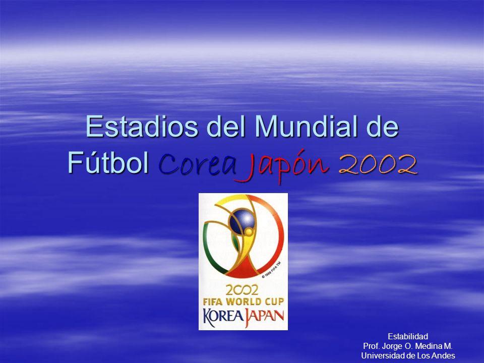 Estadios del Mundial de Fútbol Corea Japón 2002