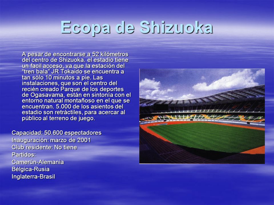 Ecopa de Shizuoka