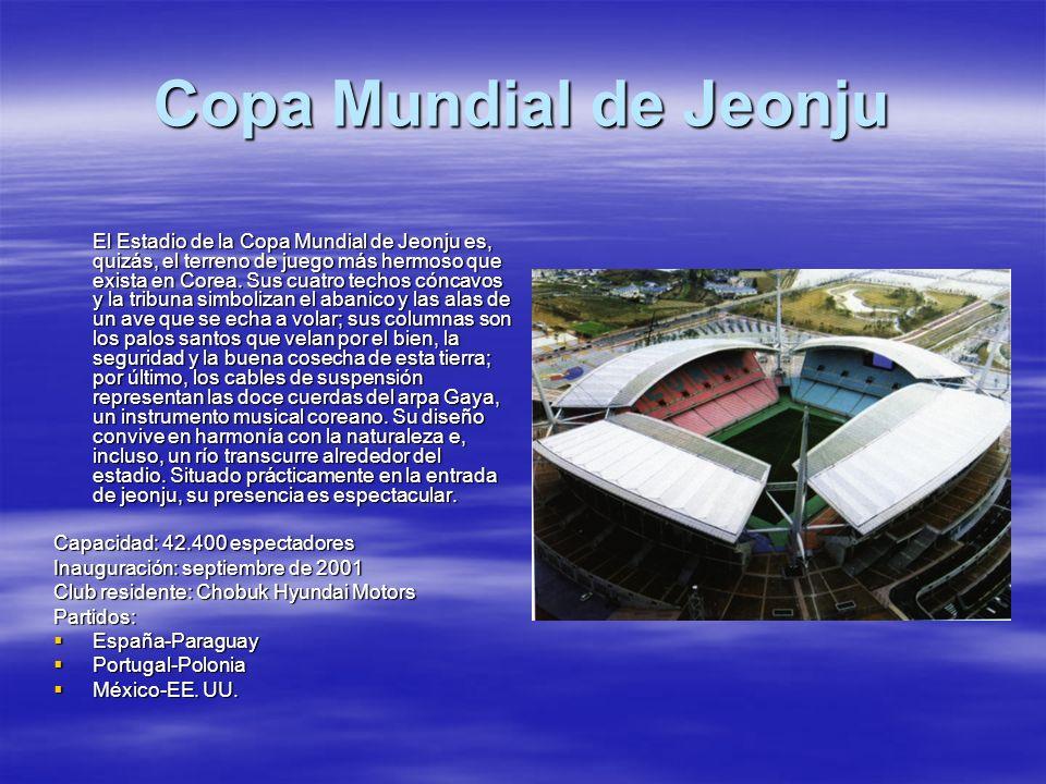 Copa Mundial de Jeonju Capacidad: 42.400 espectadores