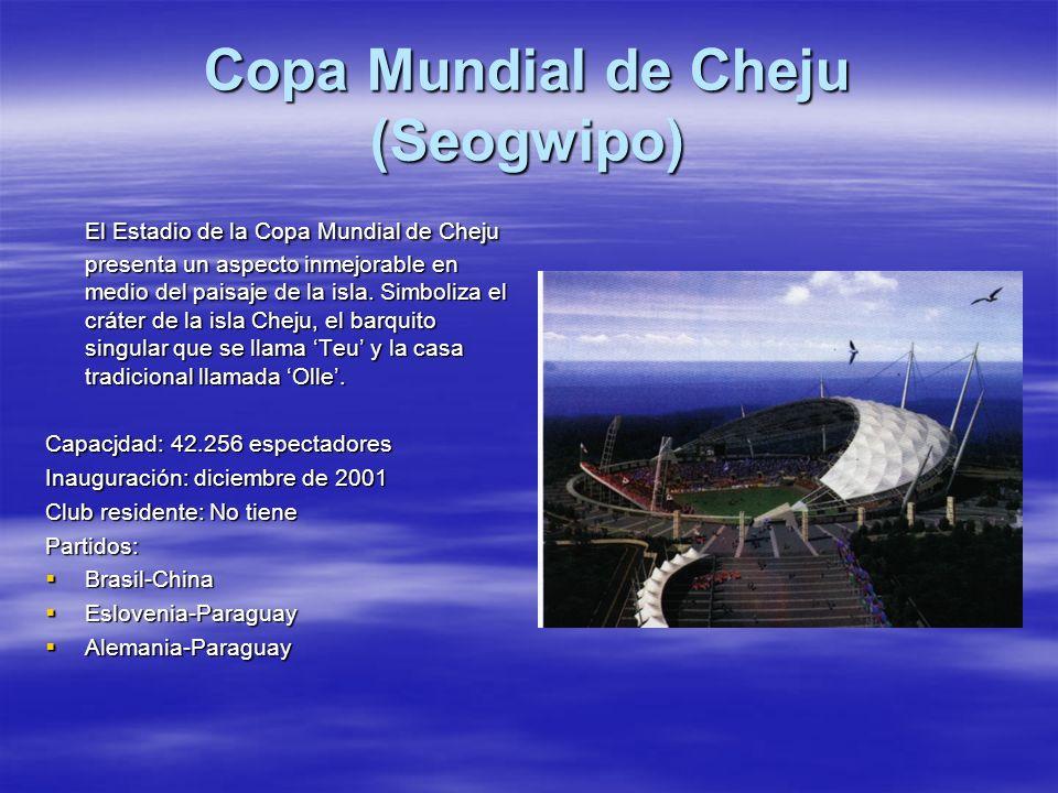 Copa Mundial de Cheju (Seogwipo)