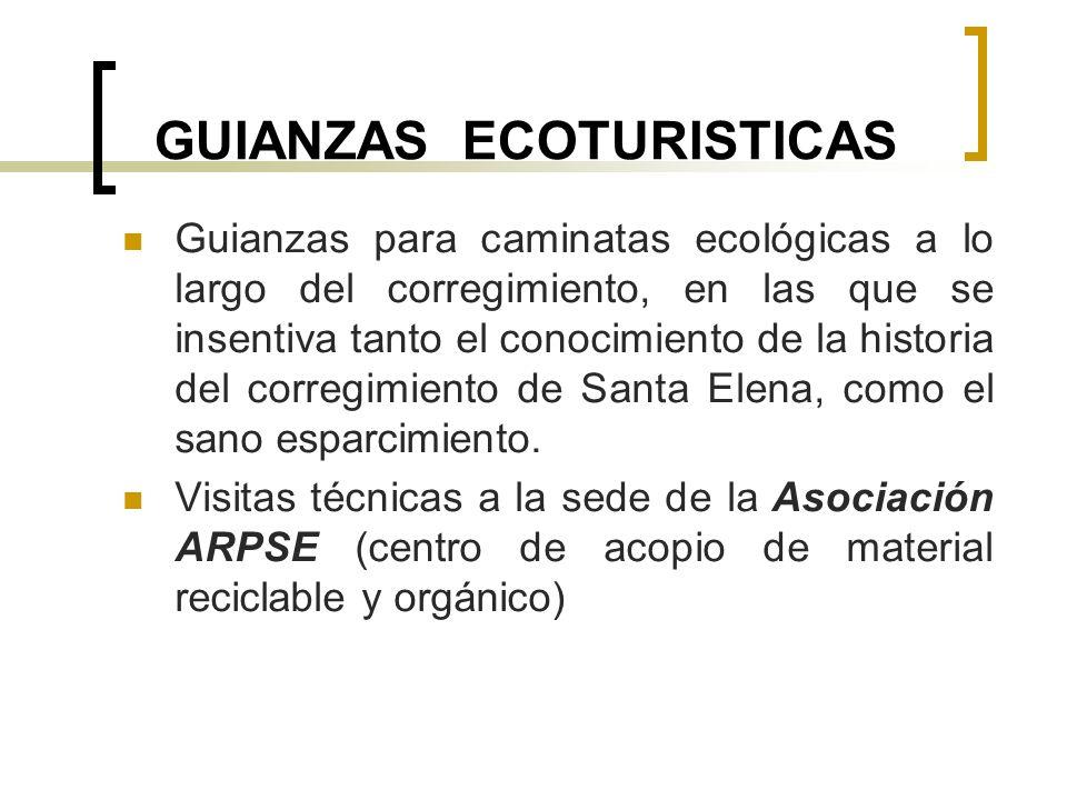 GUIANZAS ECOTURISTICAS