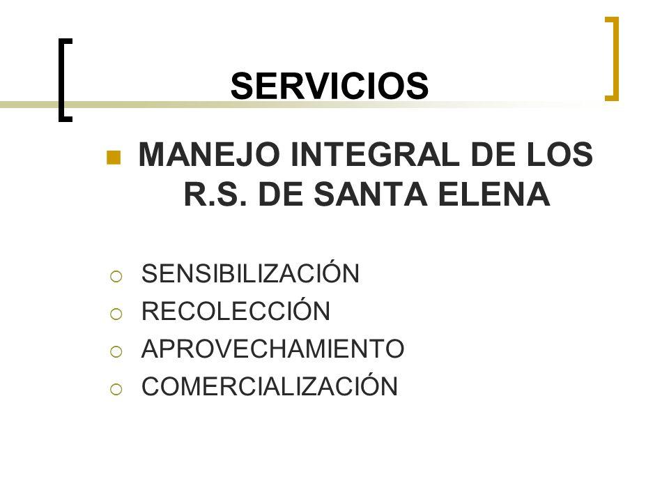 MANEJO INTEGRAL DE LOS R.S. DE SANTA ELENA