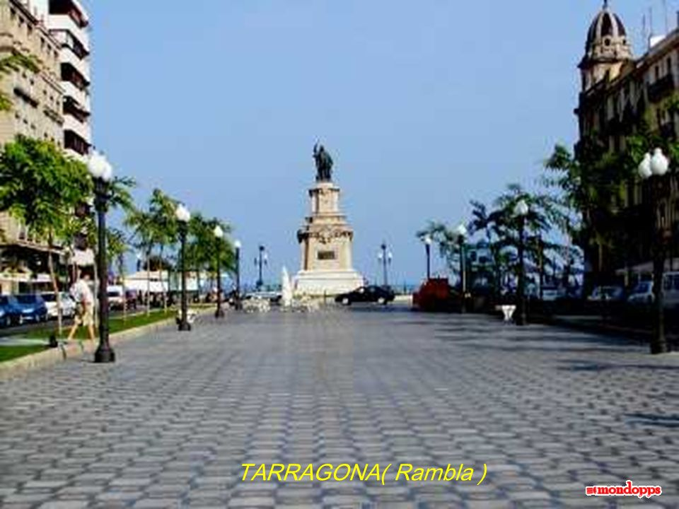 TARRAGONA( Rambla )