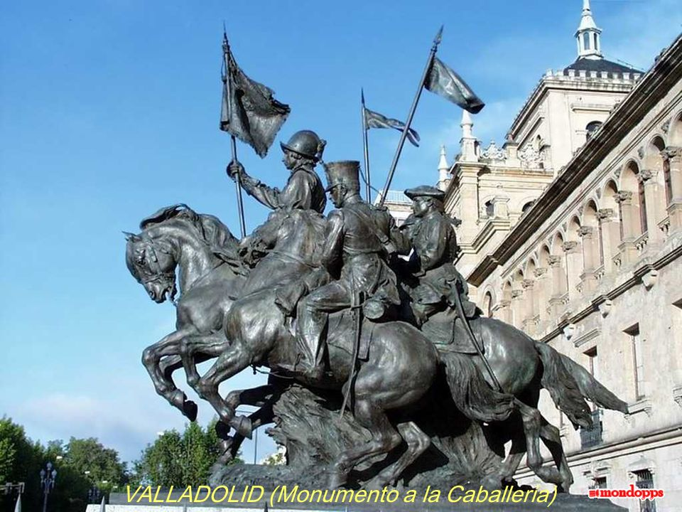 VALLADOLID (Monumento a la Caballeria)
