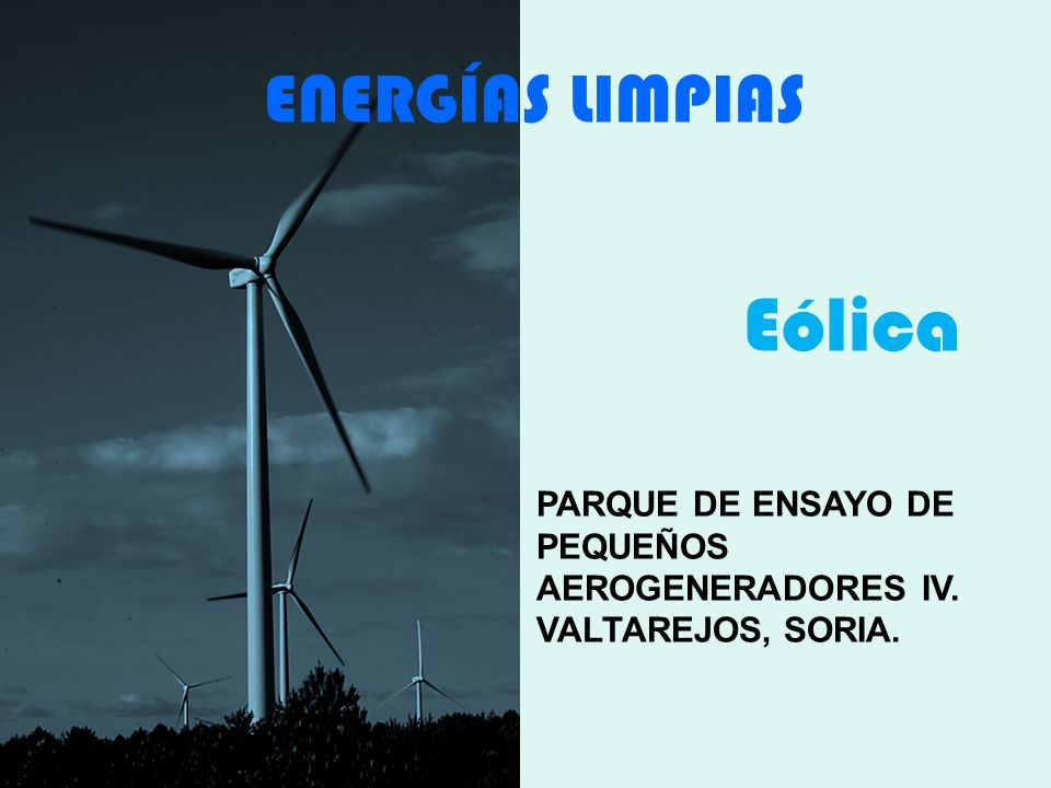 Eólica ENERGÍAS LIMPIAS