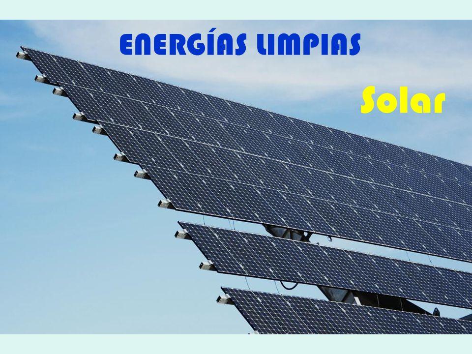 ENERGÍAS LIMPIAS Solar