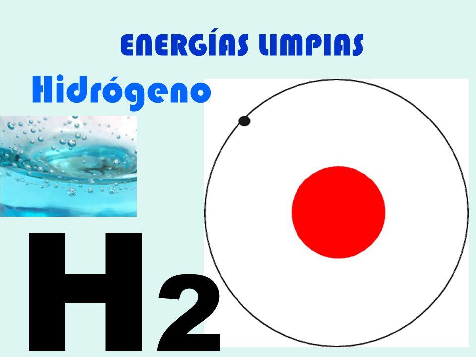 ENERGÍAS LIMPIAS Hidrógeno H2