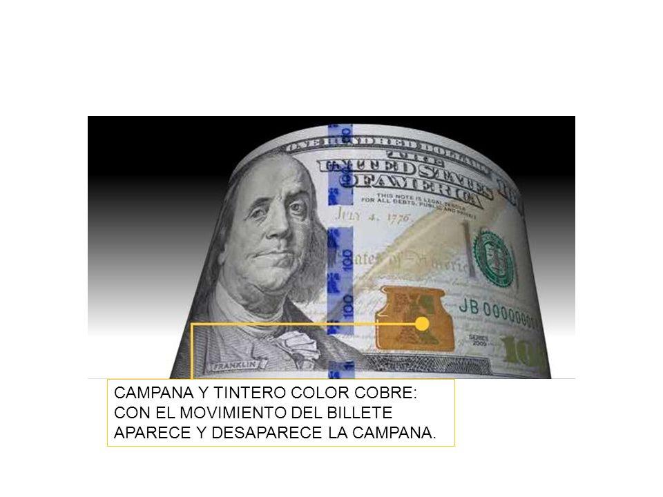 CAMPANA Y TINTERO COLOR COBRE: