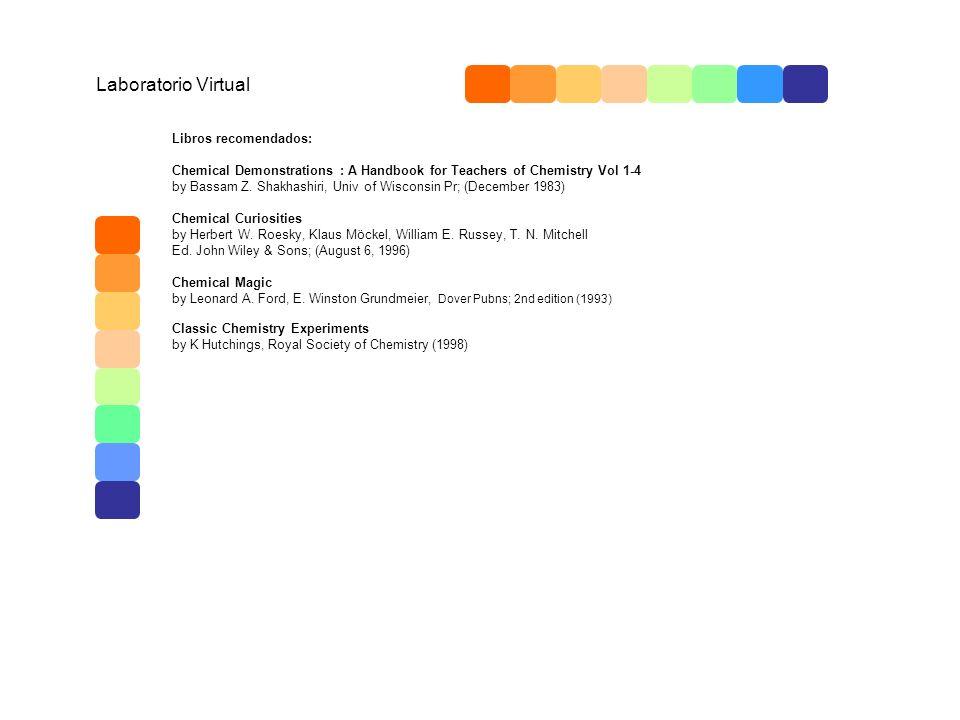 Laboratorio Virtual Libros recomendados: