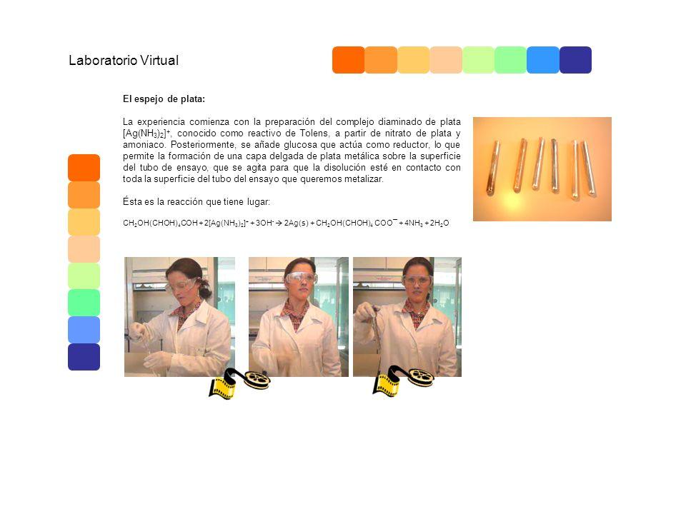 Laboratorio Virtual El espejo de plata: