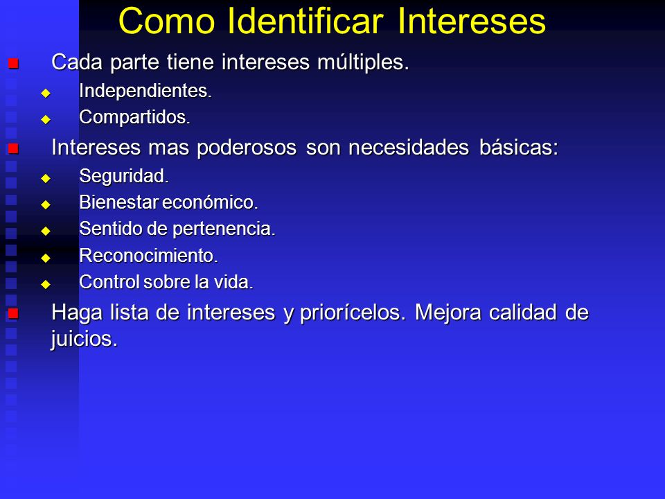 Como Identificar Intereses