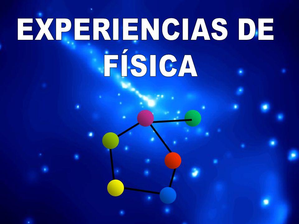EXPERIENCIAS DE FÍSICA