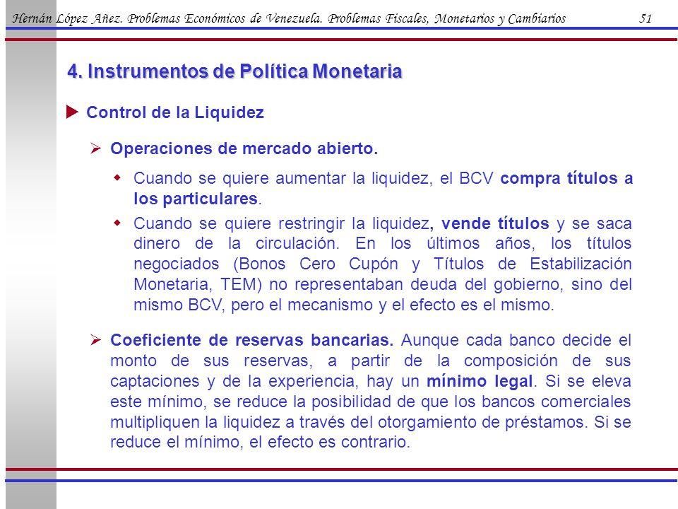 4. Instrumentos de Política Monetaria