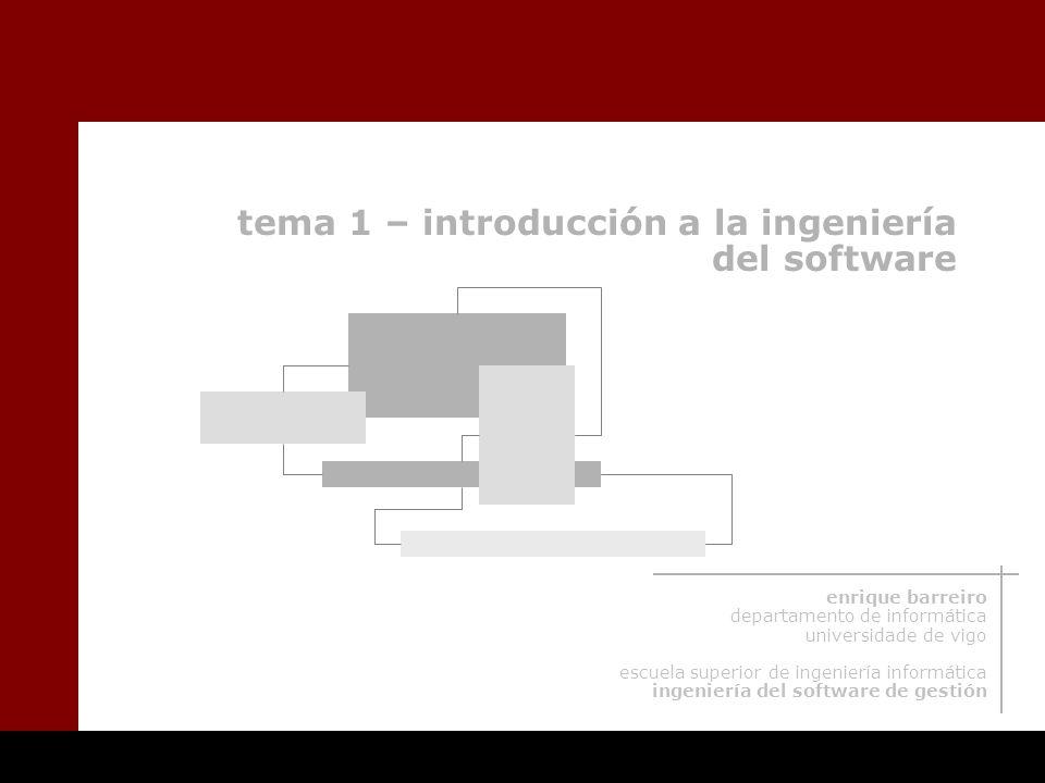 tema 1 – introducción a la ingeniería del software
