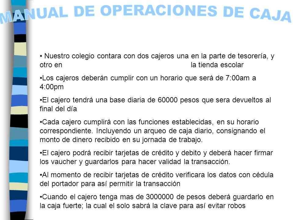 MANUAL DE OPERACIONES DE CAJA