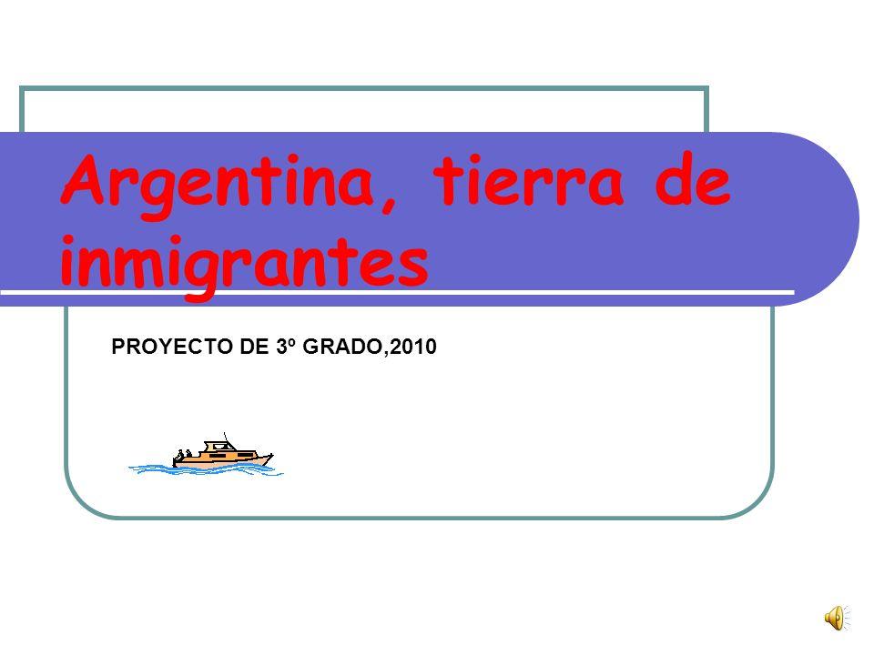 Argentina, tierra de inmigrantes