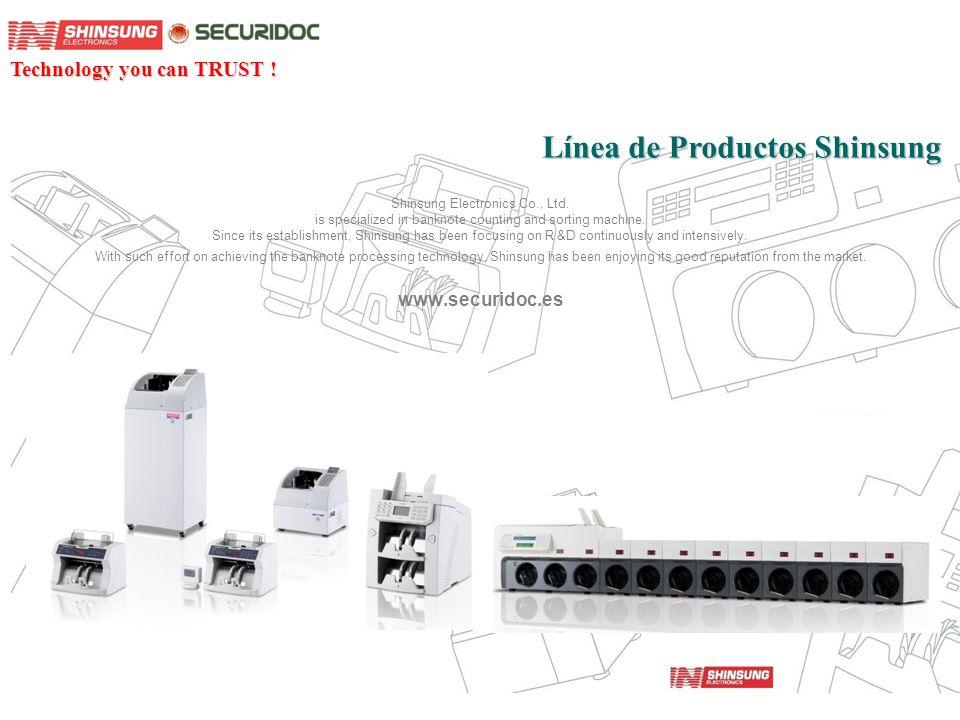 Línea de Productos Shinsung