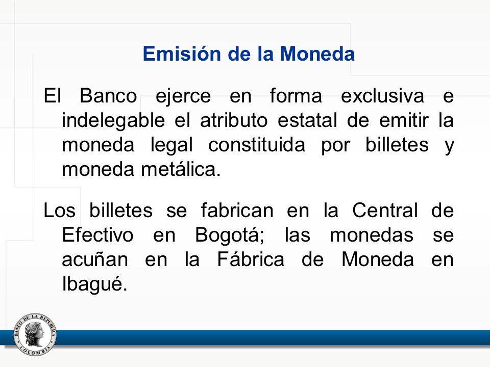 Emisión de la Moneda