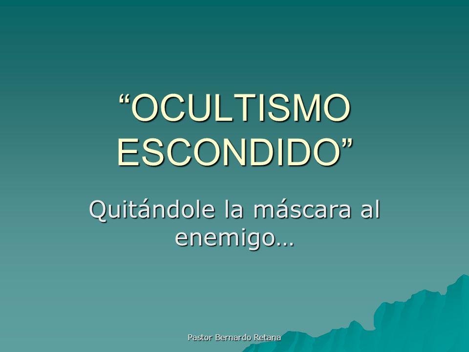 OCULTISMO ESCONDIDO