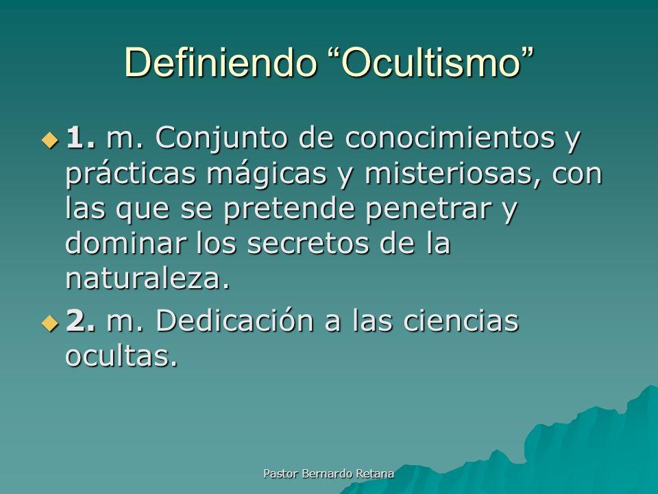 Definiendo Ocultismo