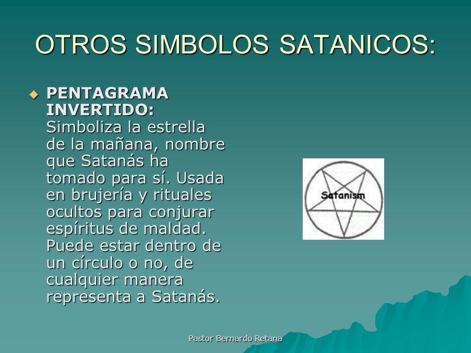 OTROS SIMBOLOS SATANICOS:
