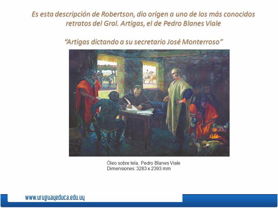 retratos del Gral. Artigas, el de Pedro Blanes Viale