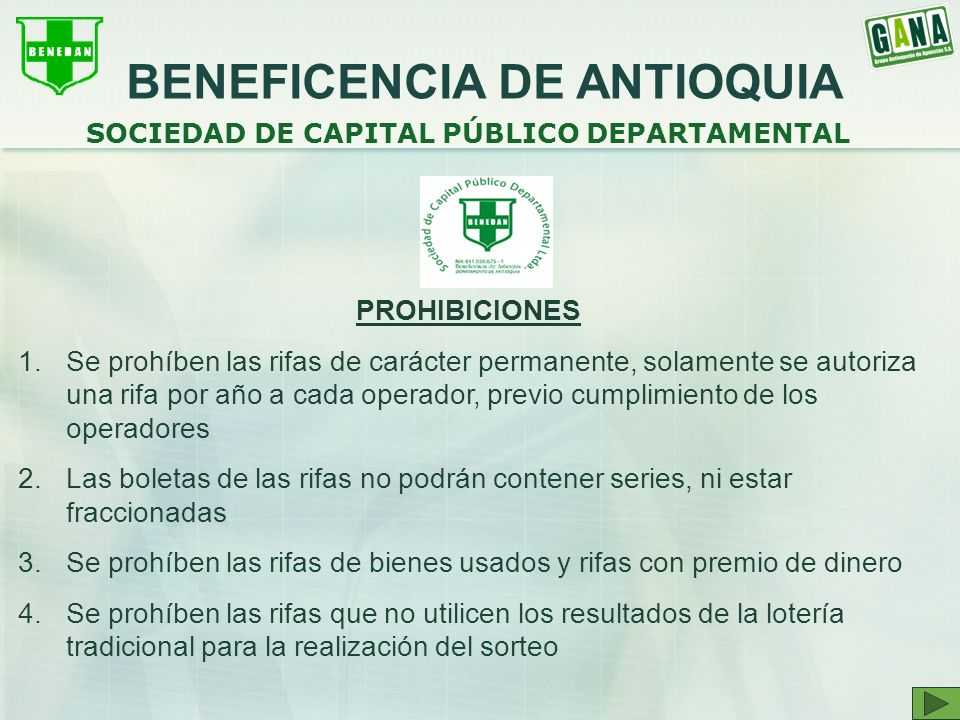 BENEFICENCIA DE ANTIOQUIA SOCIEDAD DE CAPITAL PÚBLICO DEPARTAMENTAL