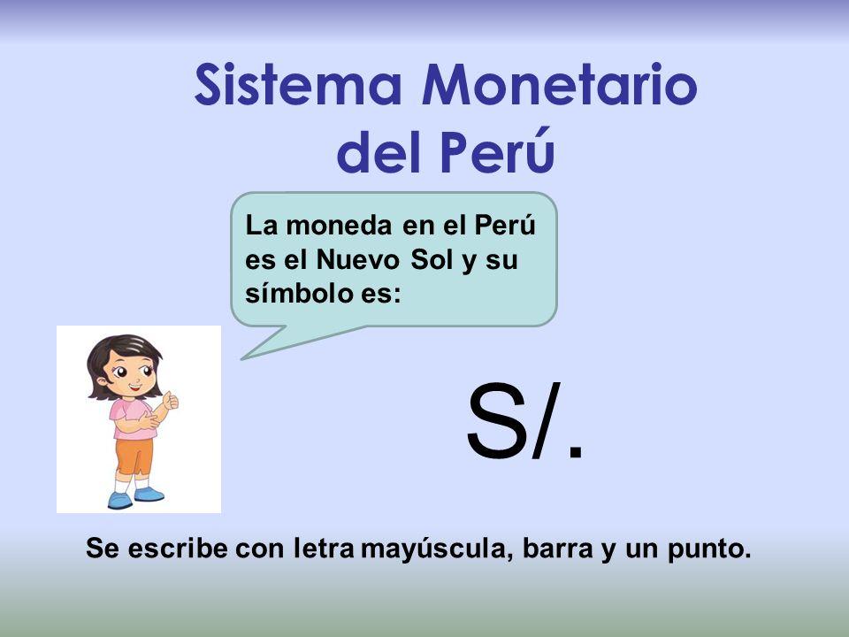 Sistema Monetario del Perú