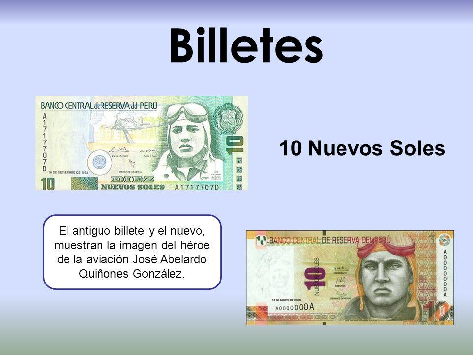 Billetes 10 Nuevos Soles.