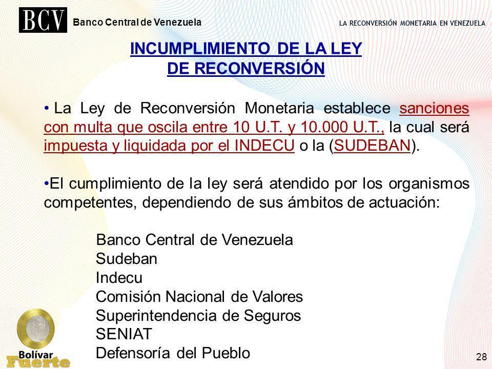 INCUMPLIMIENTO DE LA LEY