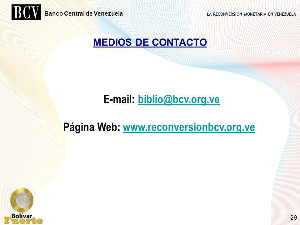 E-mail: biblio@bcv.org.ve