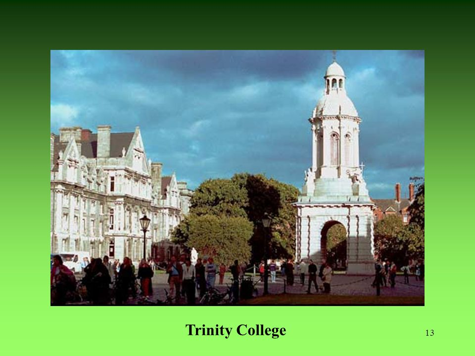 Dublín (actual) Trinity College