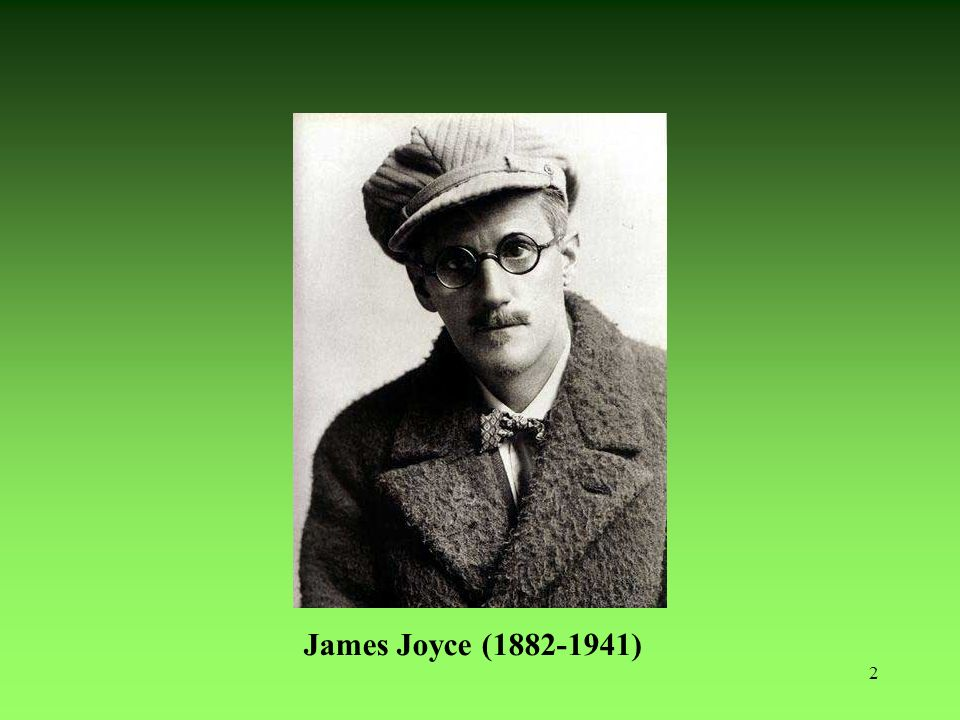 James Joyce (1882-1941) 2