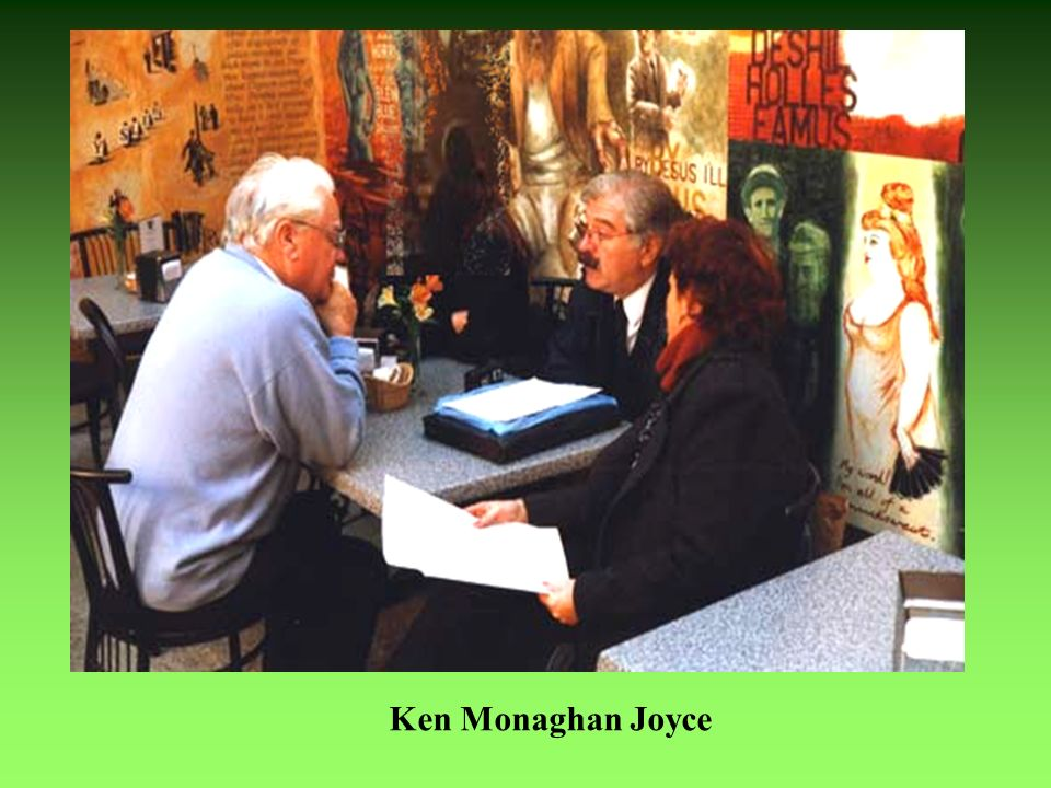 Ken Monaghan Joyce