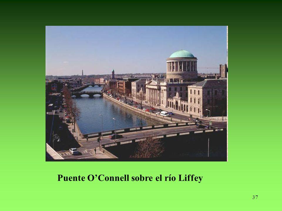 Puente O'Connell sobre el río Liffey