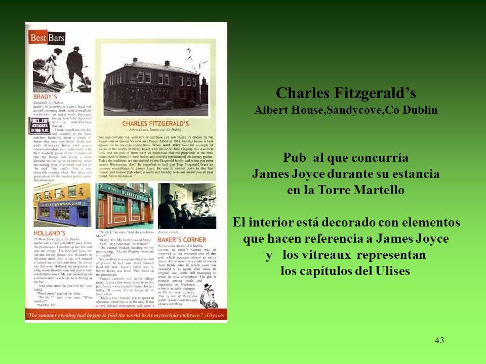 Charles Fitzgerald's Pub al que concurría