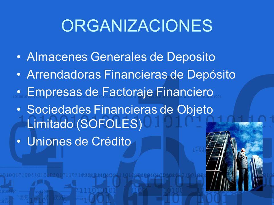 ORGANIZACIONES Almacenes Generales de Deposito