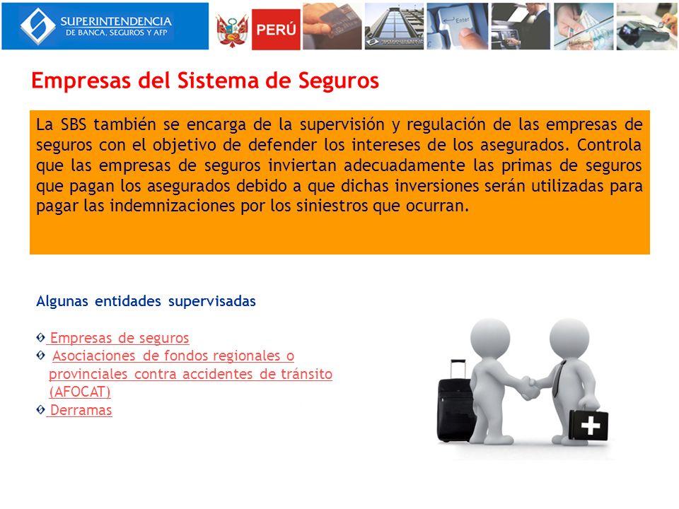 Empresas del Sistema de Seguros
