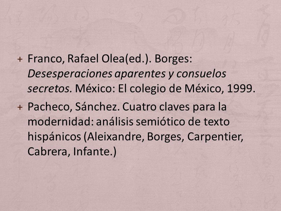 Franco, Rafael Olea(ed. )
