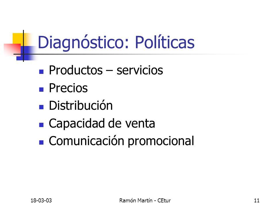 Diagnóstico: Políticas
