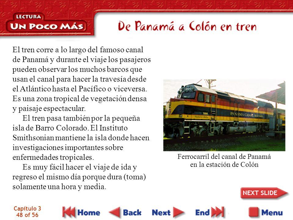 Ferrocarril del canal de Panamá