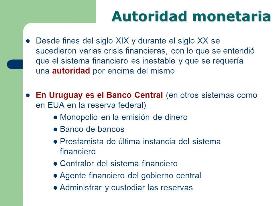 Autoridad monetaria
