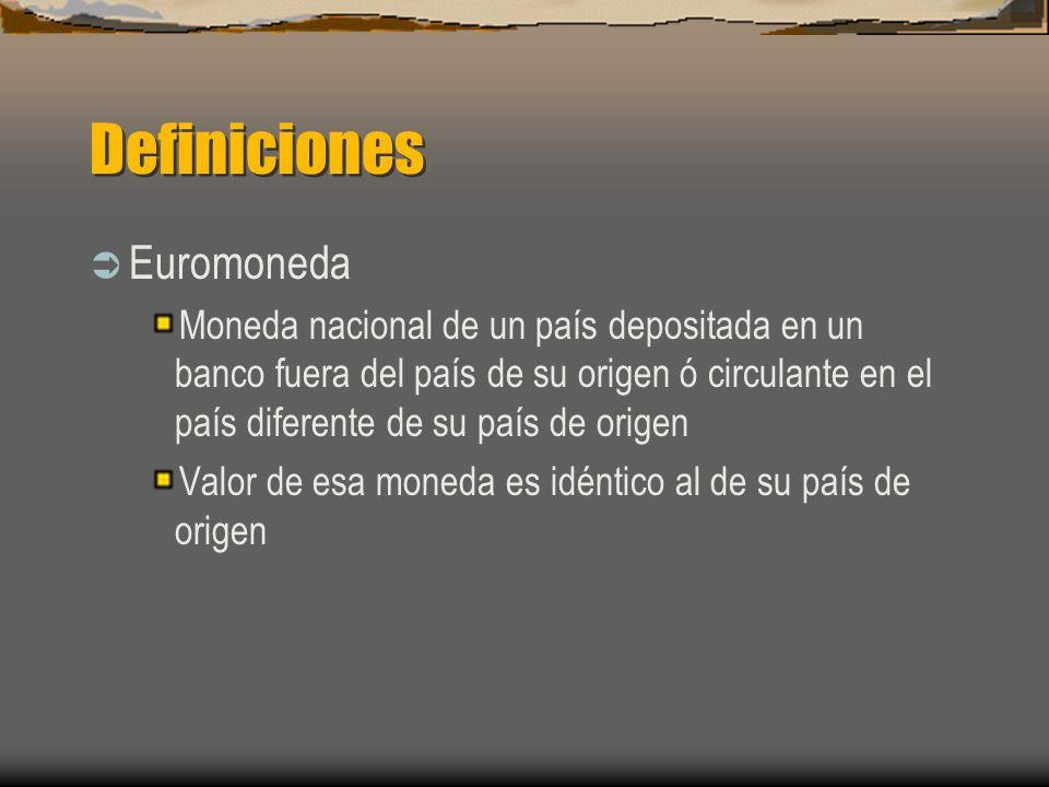 Definiciones Euromoneda