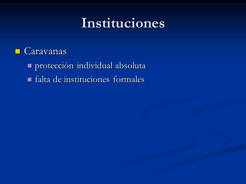 Instituciones Caravanas protección individual absoluta