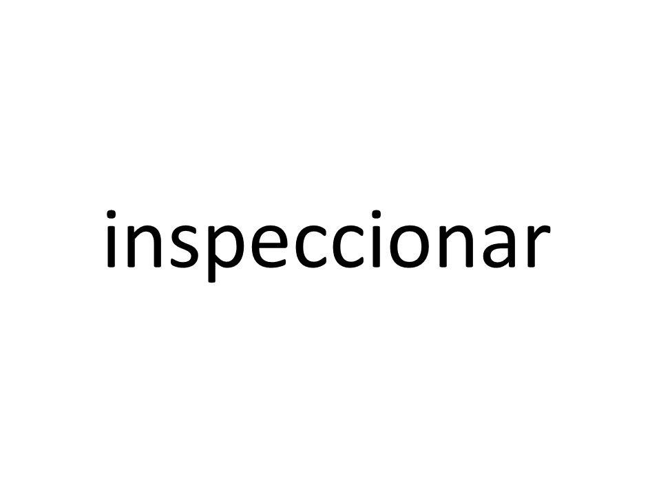 inspeccionar