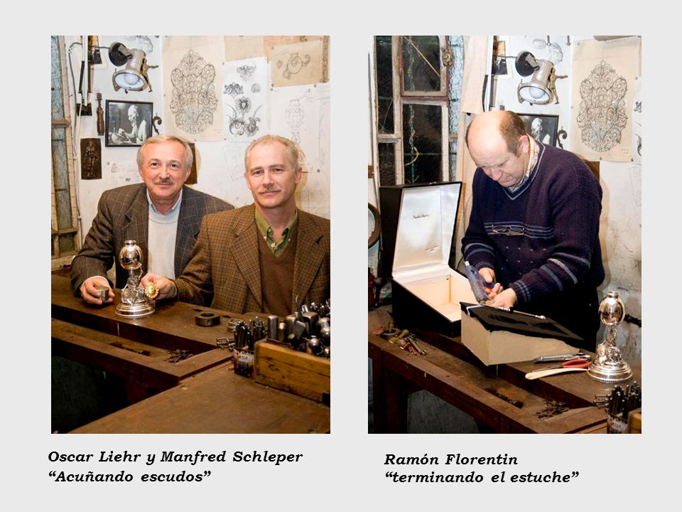 Oscar Liehr y Manfred Schleper